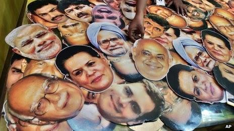 The 2014 Elections PM hopefuls|                             Photo Credits : BBC