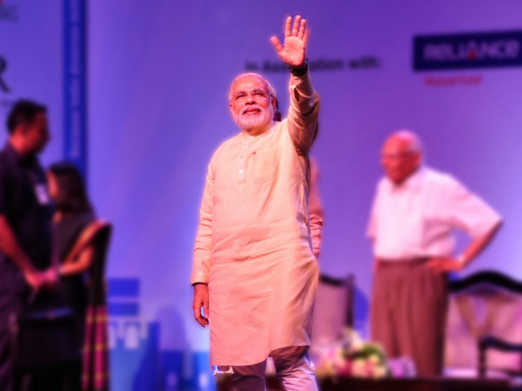 Photo: Narendra Modi's official Flickr account