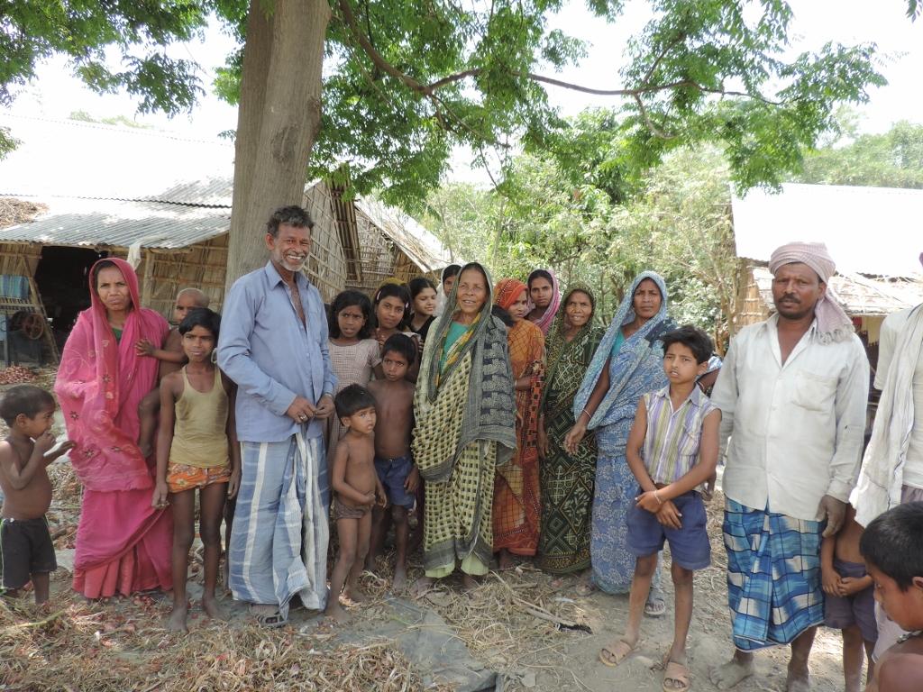 People at Banutola village
