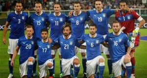 The 2014 World Cup Italy squad