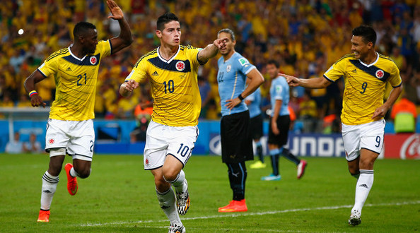 Colombia vs Uruguay| Photo: Clive Rose/Getty Images South America
