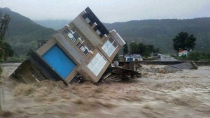 Floods in Poonch | Photo: PTI