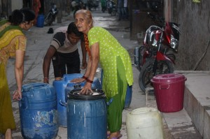 Water collection in Palam Assembly Constituency