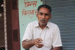 Surajpal singh, a retired person in Ghodi