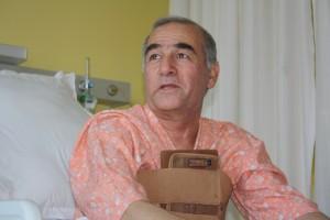 Ashurov Saidkul John, patient from Tajikistan   Photo: Narendra Kaushik