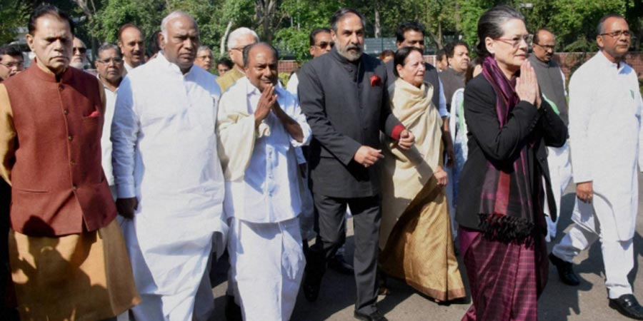 Opposition parties march against Land Bill