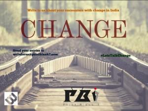 #LetsTalkChange