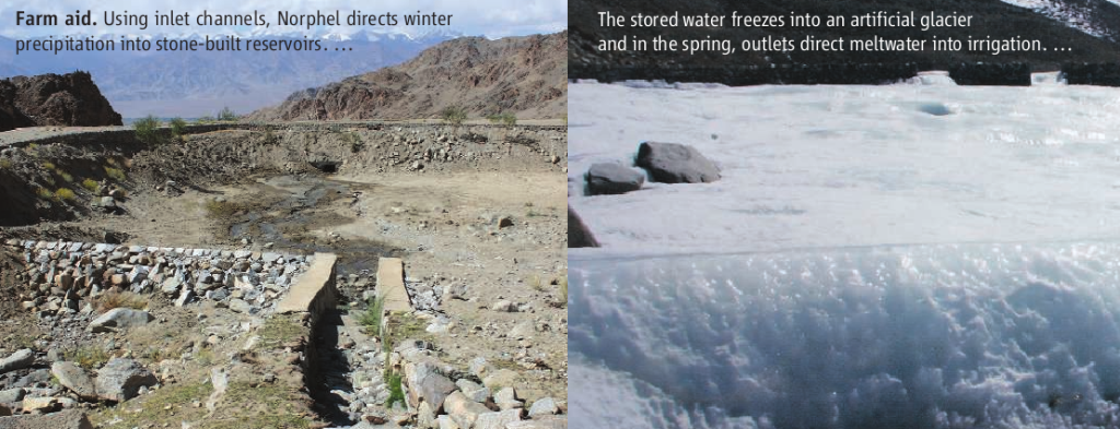 artificial glaciers