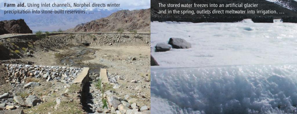 artificial glaciers