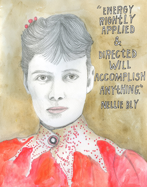 Portrait by Lisa Congdon. Click image for details.