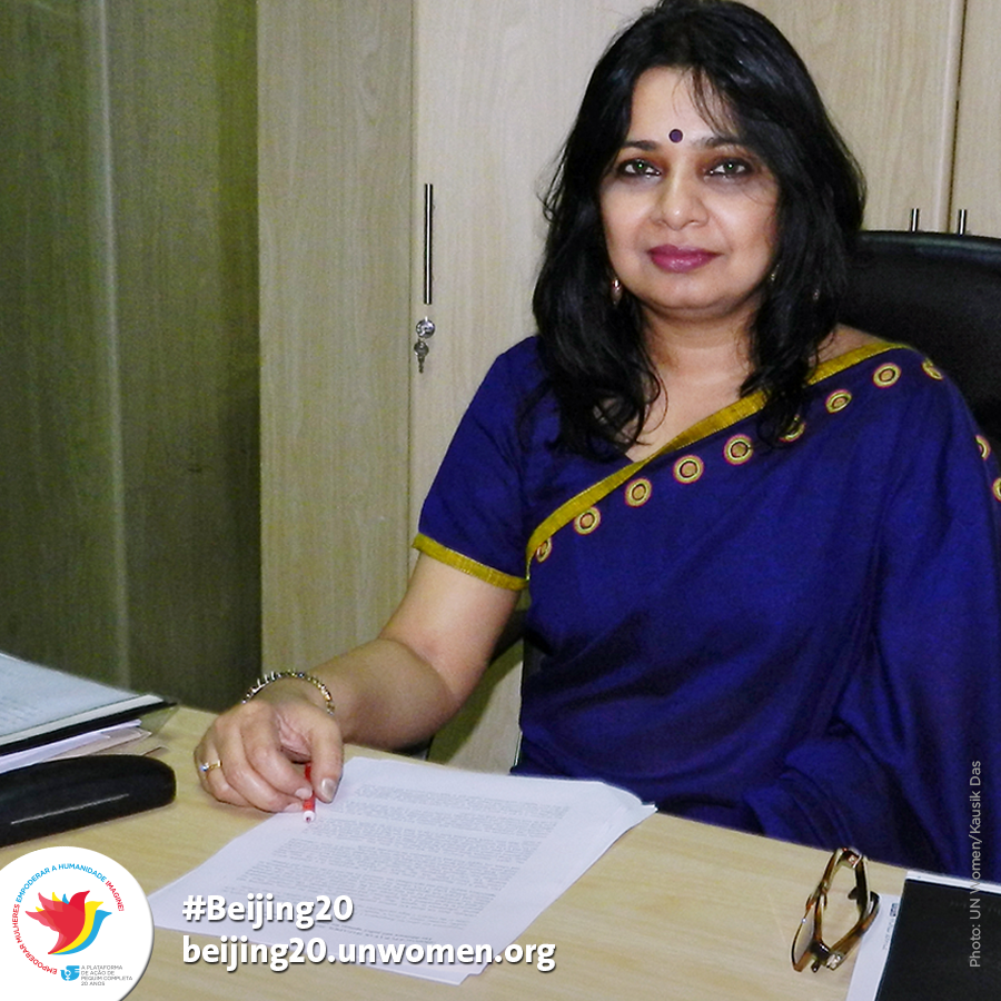 Going against the norm, Aasha Mehreen Amin has risen in the field of media in Bangladesh, essentially dominated by men, to become an influential opinion-maker as the editor of 'The Star', the most read weekly magazine for 18 years | Photo : Courtesy: UN Women