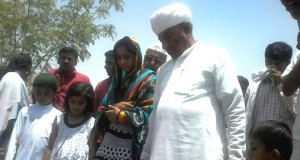 The presence of young people in grassroots governing bodies has increased notably since 2010. One of them is, 21-year-old Amtulla Mehar, the Pradhan of Sankara Panchayat Samiti in Jaisalmer district,Rajasthan. (Credit: Rakesh Kumar\WFS)