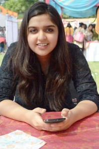 Vasundhara Choudhary, a suave psychology student from Delhi University, is the uncontested Sarpanch of Lilawali in Hanumangarh district. (Credit: Rakesh Kumar\WFS)