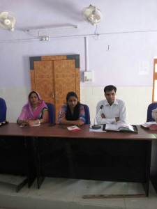 Annu Sharma, Pradhan of Bhinay Panchayat Samiti in Ajmer, truly believes that representatives who have done their higher education are able to quickly learn the ropes of government functioning, which can otherwise take years. (Credit: Rakesh Kumar\WFS)