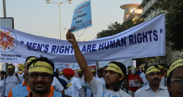 Men's Rights Activists protesting in India | Photo Credit: Creative Commons/ Peter Wright