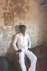 In Gaudwadi village, Datta Gulig, 25, is the reason why 882 home owners have officially inked their wife's name into the joint ownership papers of their houses. (Credit: Suchismita Pai\WFS)