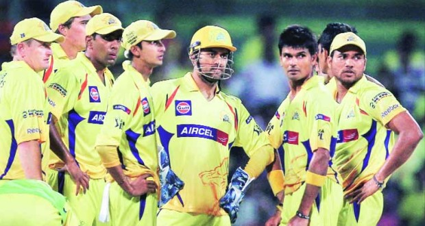 Chennai Super Kings, one of the two IPL teams now suspended, has fielded cricketing giants| Source:CandyDirectNews
