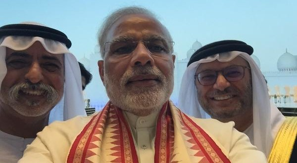 Modi in Dubai]