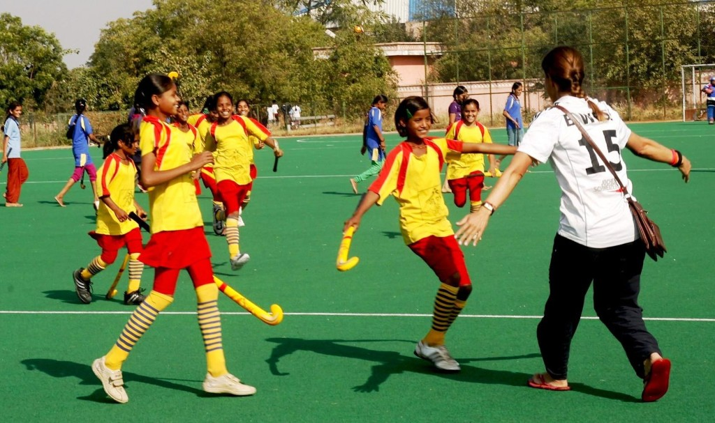 Sports programmes have been successful in reducing restrictions on mobility and social isolation that many women and girls experience,particularly those who live in poverty and who might otherwise be mainly confined within their communities and families. (Credit: Andrea Thumshirn\WFS)