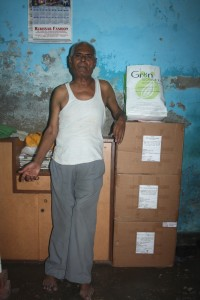 medicine monk posing in his single room dwelling1