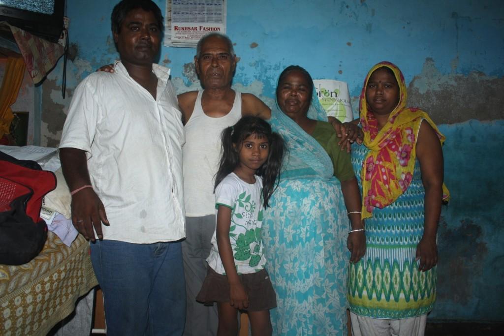 Medicine monk with his family | Photo: Narendra Kaushik