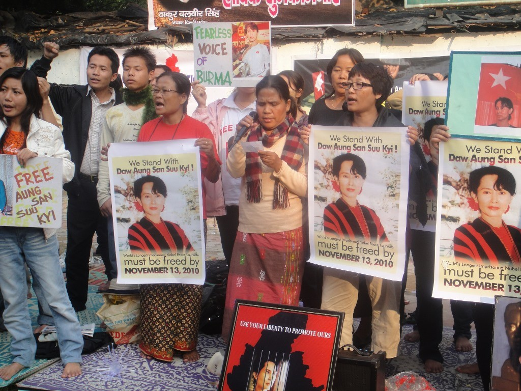 Nothing symbolised the change in Burma more powerfully than the release, in 2010, of Aung Sang Suu Kyi who had to suffer house arrest almost continuously from 1989 for her opposition to the ruling military junta. (Credit: Ninglun HanghalWFS)