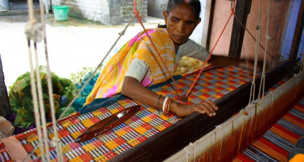 From stitching garments, making craft items to processing food items, there are a number of activities that home-based workers undertake. (Credit: Dr Sanjay KumarWFS)