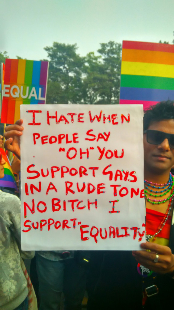 As the LGBT community renewed its appeal for the repeal of the Section 377, it made a strong case for a space for diversity.