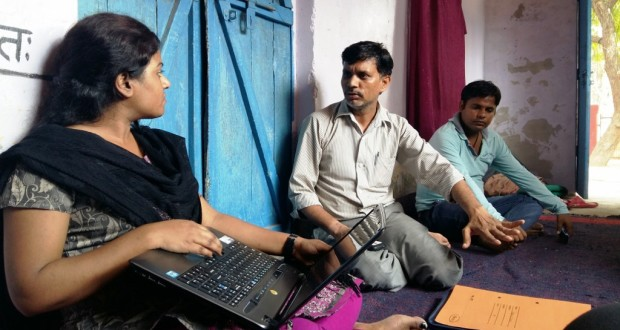 Raj Kumar Paras, 39, from Barakhamba colony, a slum settlement on the outskirts of Agra, Uttar Pradesh, understands the implications of underage marriage and is there for anyone who needs support to fight it| Credit: Chetna Verma\WFS